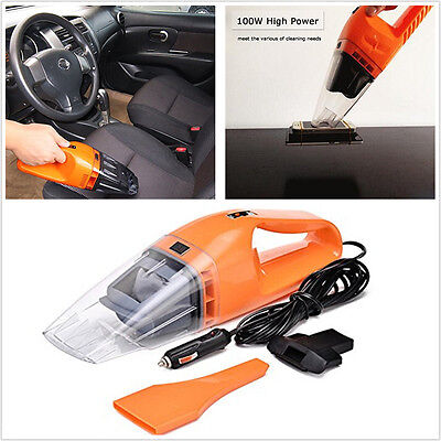 3in1 Multifunctional In Car 12V 120W Handheld Vacuum Cleaner Cyclonic WetDry