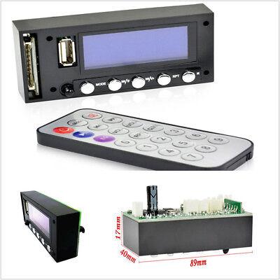 Bluetooth MP3 Decoding Board Blue Screen Stereo Output FM USB SD MMC WAV Decoder Blue Fox Bluetooth