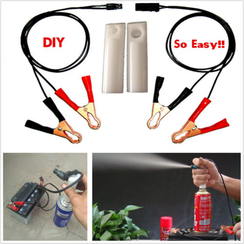 For All Cars Fuel Injector Flush Engine Cleaner Adapter Hand Cleaner Tool Kit