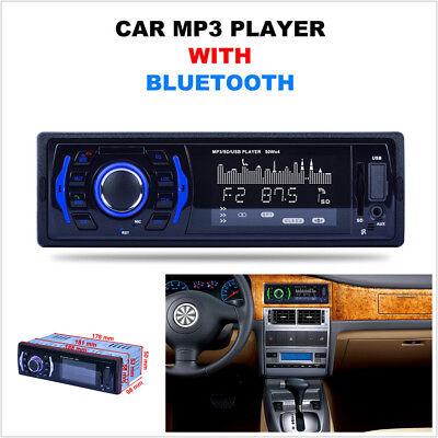12V Bluetooth Car Dash Radio MP3 Player Stereo USB AUX Classic Car Stereo Audio