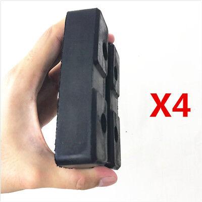 4pcs 115*80*25mm Heavy Duty Rubber Arm Pads Car Lift Accessories for Truck Hoist