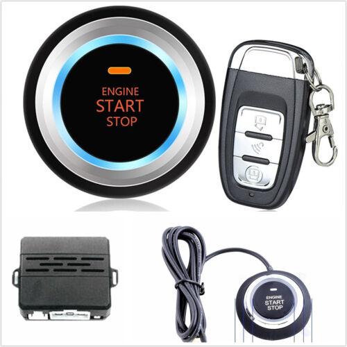Autos C3 Ignition Engine Start Push Button Remote Alarm System Audible Alert Kit