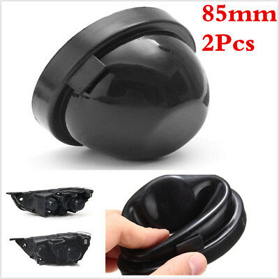 85mm Rubber Bowl Seal Cap Closed Cell Covers For Car Headlight Housing Bulb HID