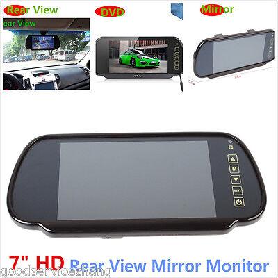 7 inch HD LCD TFT Car Reverse Rear View Backup Camera DVD Mirror Monitor