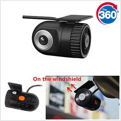 360° Car 1080PDVRCameraVideoRecorderDashCamG/SensorCamcorderMini hidden