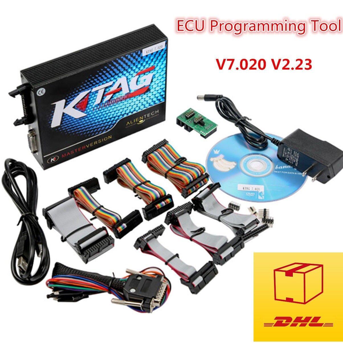 KTAG ECU Programming Tool FW V2.13_V6.070 - V2.23_V7.020 KTAG Unlimited Token