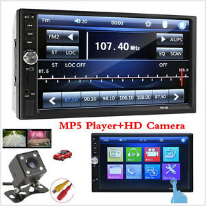 Touch In Dash Stereo Car DVD CD Player 7