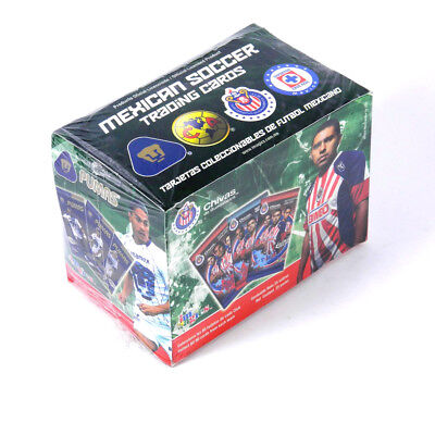 2009-10 Official Licensed Mexican Soccer Trading Card Box (25 Packs)