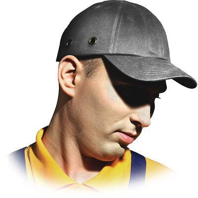 Anstoßkappe Schutzhelmkappe Hardcap Arbeitskappe ABS CAP Schutzhelm Helm Grau