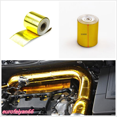 Car High Temperature 1200°f Continuous Roll Self Adhesive Heat Shield Wrap Roll