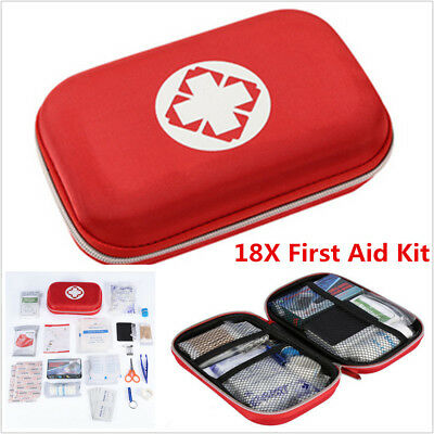 Portable Waterproof Car Outdoor First Aid kit Medical Box Emergency Survival Kit