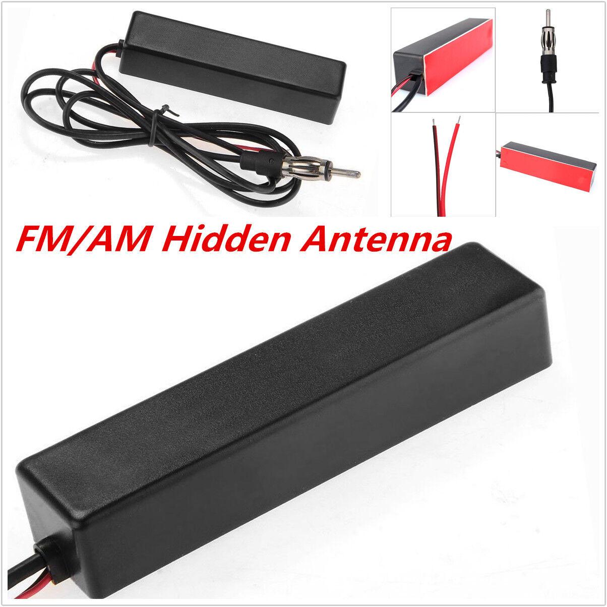 universell versteckte FM/AM elektrisch Verstärkt Radioantenne für Auto LKW Boot