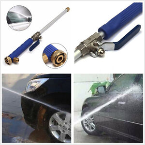 Professional Car Home High Pressure Washer Sprayer Cleaner Nozzle Water Gun Blue