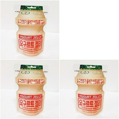 50g x 3 packs Lotte Yogurt Jelly Yogurt Gummi Soft Jelly Candy Korean product