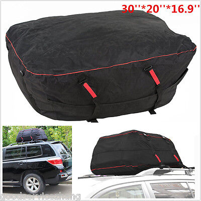 30''*20'' Car SUV Offroad Rooftop Storage Luggage Top Carrier Cargo Bag Travel
