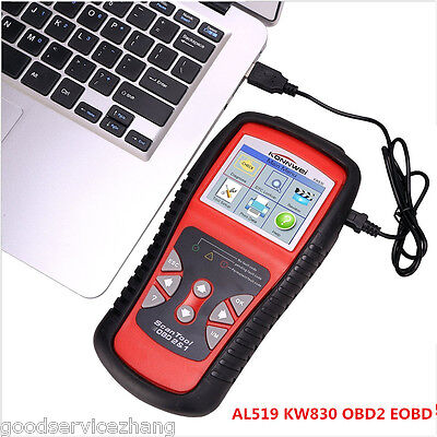 NEW KW830 CAN Car EOBD OBDII Diagnostic Tool Auto Scanner Fault Code Reader