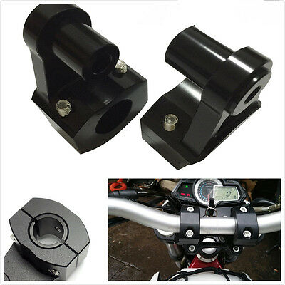 HIGH QUALITY ALUMINUM MOTORCYCLE ATV HANDLE FAT BAR MOUNT CLAMPS RISER