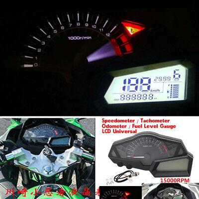 LED DIGITAL BACKLIGHT MOTORCYCLE ODOMETER SPEEDOMETER TACHOMETER CLOCK