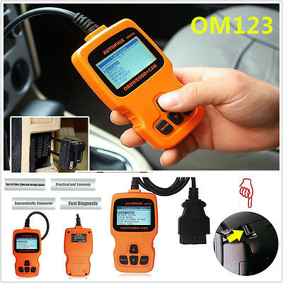 OM123 OBDII OBD2 EOBD Car Auto Code Reader Auto Diagnostic Scan Tool Hand held