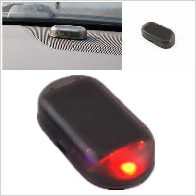 Auto Solar Energy Alarm Security Warning Prompt Theft Flash Strobe Led Light New