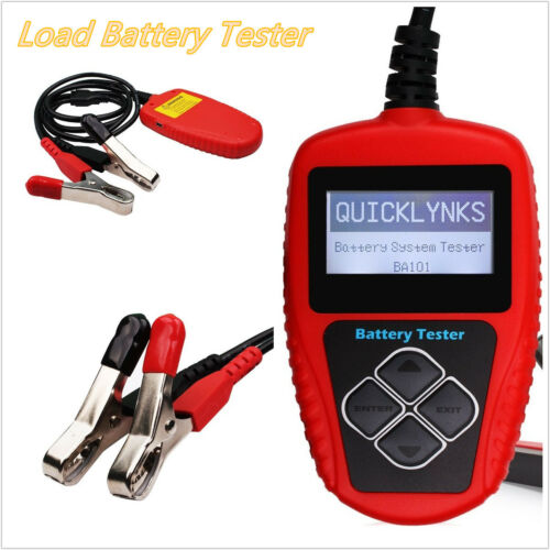 Professional BA101 100-2000 CCA 220AH Car Battery Tester Analyzer Diagnost Tool