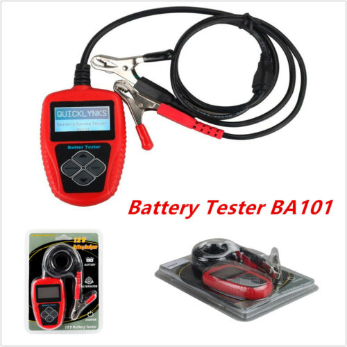 BA101 Professional 12V Car Load Battery Tester Digital Analyzer CCA Test Tool