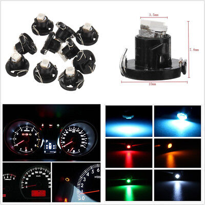 30 X 12V T4/T4.2 1-SMD LED Car Vehicles Neo Wedge Instrument Dash Climate Lights