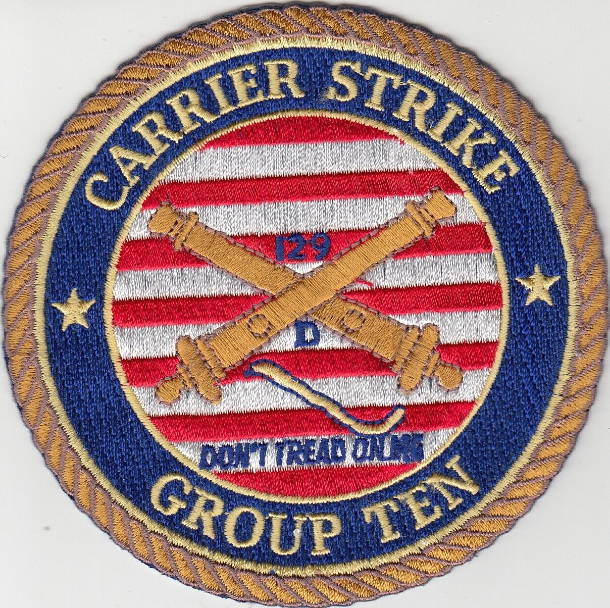 Carrier Strike Group Ten 96