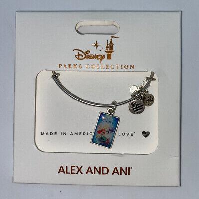 Disney Parks ALEX /& ANI bracelet URSULA silver tone Little Mermaid villain NEW