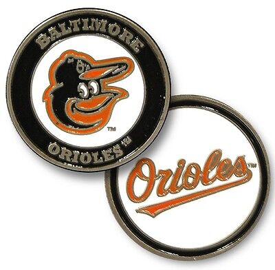 NEW MLB Baltimore Orioles 2 sided Golf Ball Marker