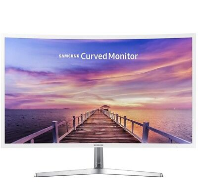 "Samsung 32"" Curved Well-rounded HD LED Monitor MagicBright  HDMI"