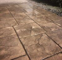CUSTOM STAMPED CONCRETE AND OTHER CONCRETE PADS