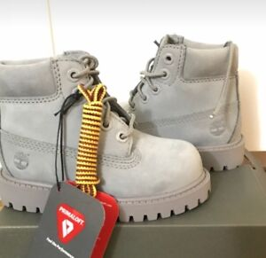 Toddler timberland size 6 in grey