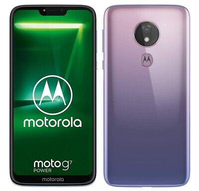 Motorola Moto G7 Power Smartphone 64GB Sim-Free Unlocked - Violet B