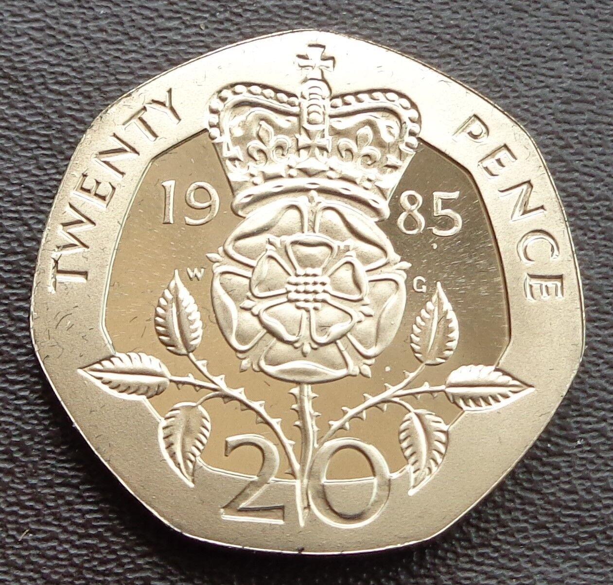 1983 - 2017 Elizabeth II 20p Twenty Decimal Proof Coin - Choose Your Year