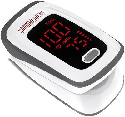Fingertip Pulse Oximeter Blood Oxygen Saturation Monitor Spo2 With Pulse Rate