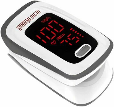 Fingertip Pulse Oximeter Pediatric Adult Blood Oxygen Heart Rate Monitor Usa Fda