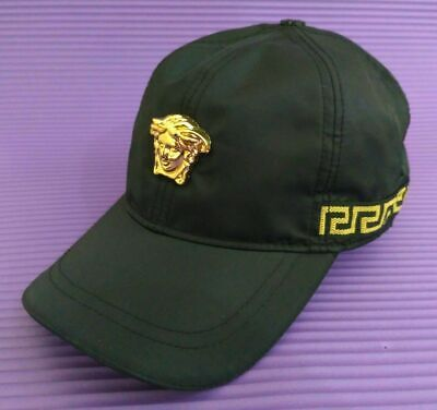 VERSACE Logo Hat Baseball Cap