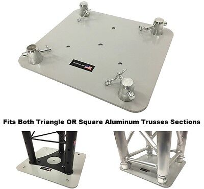 "12""X13"" Base Plate/ Top For Square or Triangle Trussing Fits F34 Global Truss SQ"