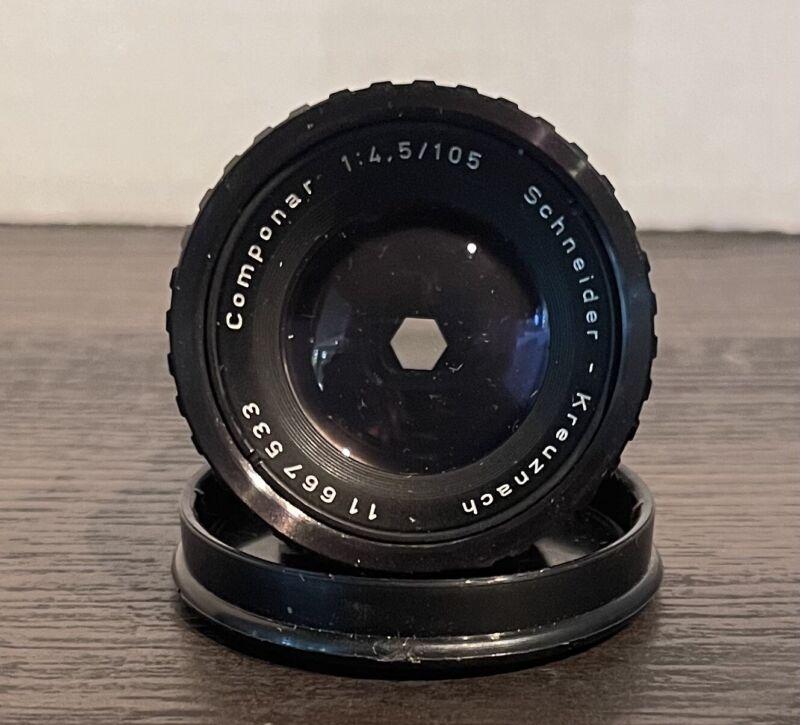Schneider Krewznach Componar 4.5/105mm Enlarger Lens Made In Germany