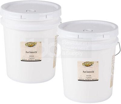 5 Gallon Buckets Bulk (2 PACK 5 Gallon Golden Barrel Pure Coconut Oil Pail Commercial Bucket Bulk 76)