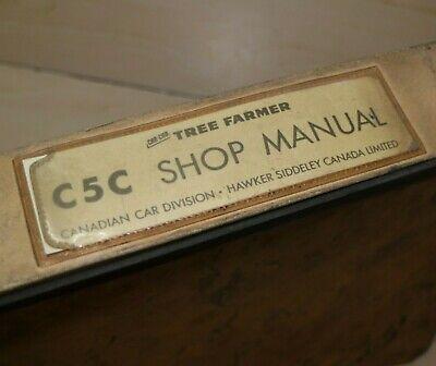 Can-car Tree Farmer C5c Skidder Repair Shop Service Manual Book Owner Operator