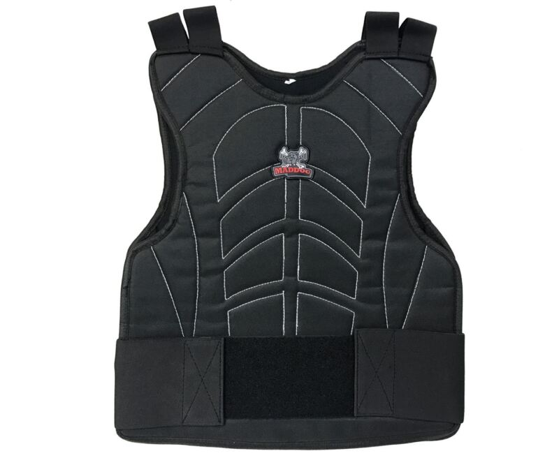 Maddog Padded Chest Protector Paintball Airsoft Black