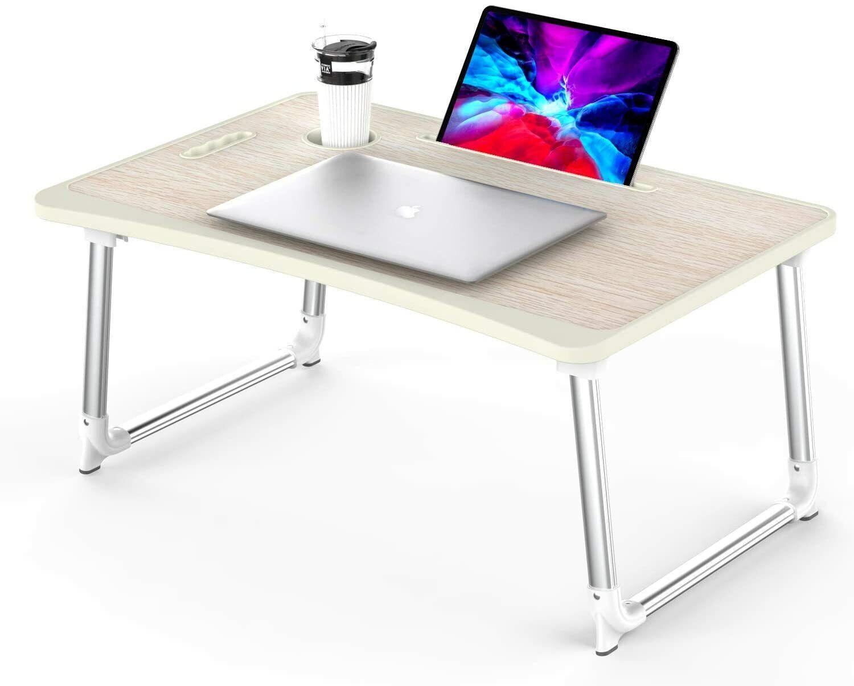 KELOFO Laptoptisch otebooktisch Betttisch Lapdesks Getränkehalter #X29-2098-J