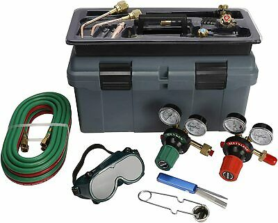 Victor Type 250 System Welding Cutting Kit Acetylene Oxygen Torch Set Regulator