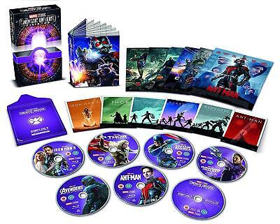 Marvel Cinematic Universe Phase 2 Two [Blu-ray] Collector's Edition 6 Movie Set