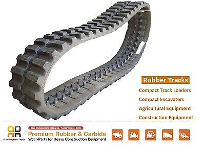 Rubber Track 450x100x48 Gehl Ctl 70 75 Takeuchi Tl 140 240 10 Skid Steer