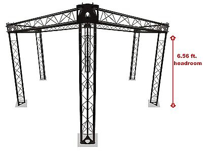 Trade Show Booth Trusses Dj Stage 15 Diameter Metal Truss Triangle Hexagon