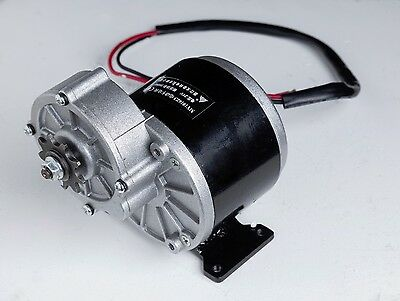 350 W 24 V DC electric motor f bicycle bike scooter MY1016z3 gear reduction