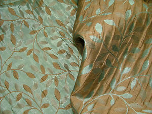 Floriana Italian Pocketed Reversible Designer Curtain Upholstery Jacquard Fabric